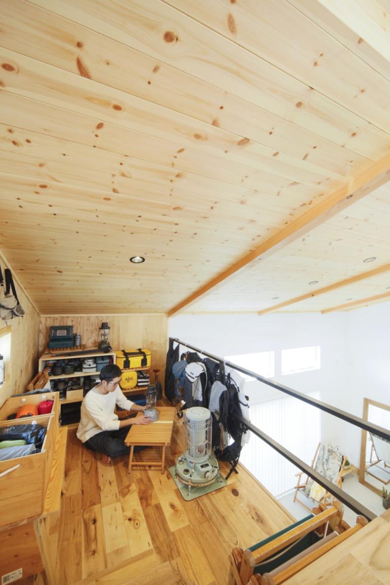 趣味を楽しむ家