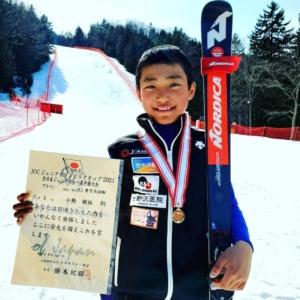 弊社の支援するスキーチームが好成績をおさめました(^^)